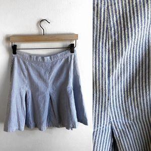Laundry by Shelli Segal Pinstriped Miniskirt.